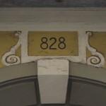 particolare numero civico austriaco