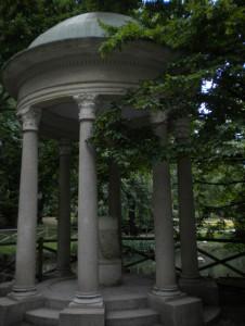 gazebo giardini villa reale